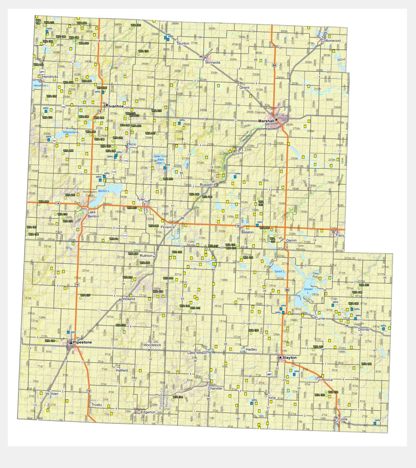 Maps | Hunt Southwest Minnesota