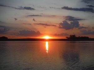 sunset photo by Nick Simonson